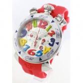 ガガミラノ クロノ48mm ラバー レッド/ メンズ 6050.1 コピー 腕時計