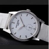 パテック フィリップ スーパーコピー時計 新作 カラトラバタイムレス・ホワイトRef.7122/200