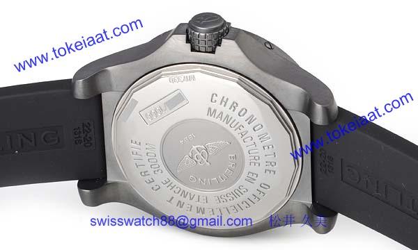 (BREITLING)ブライトリング時計コピー アベンジャー シーウルフ ブラックスティール M177B45RPB
