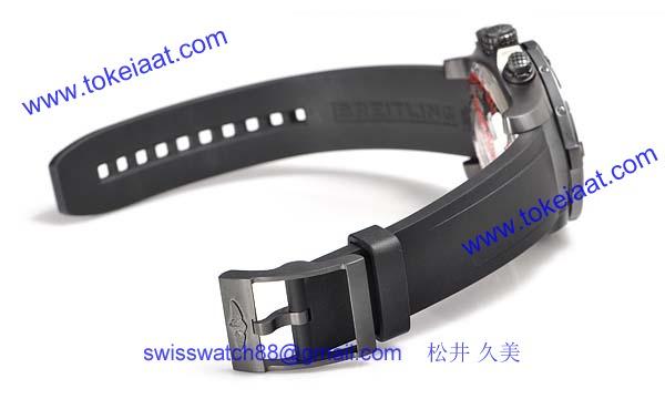 (BREITLING)ブライトリング ブランド コピー 時計 アベンジャー シーウルフ クロノ ブラックスティール M73390-2022