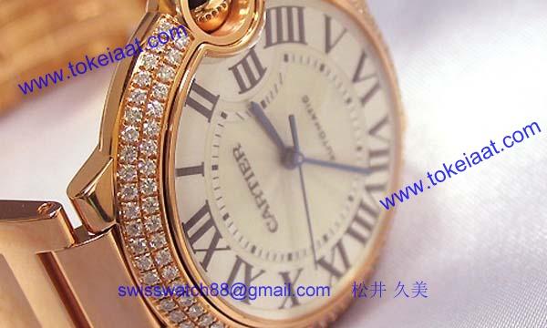 人気 カルティエ ブランド時計コピー 激安 バロンブルー MM WE9005Z3
