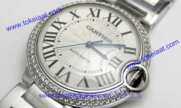 人気 カルティエ ブランド時計コピー 激安 バロンブルー MM WE9006Z3_