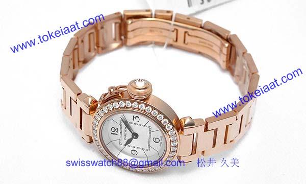 カルティエ時計ブランド通販コピー ミスパシャ WJ124013_