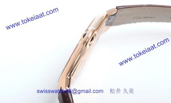 カルティエ コピー時計 エクストラフラット バロンブルー 46mm W6920054