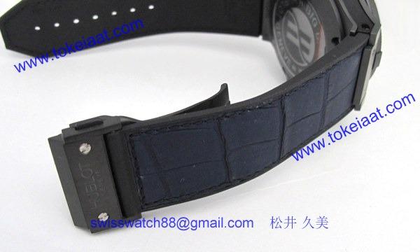 ウブロ 時計 コピー ビッグバン キング オールブラックブルー 322.CI.1190.GR.ABB09