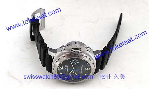 パネライ(PANERAI) ルミノールスーパー時計コピークロノ レガッタ2008 PAM00308