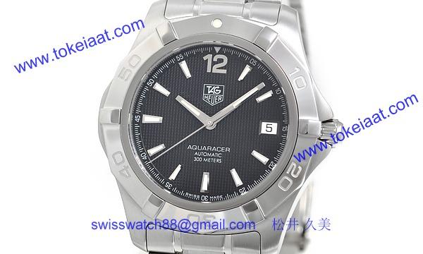 TAG タグ·ホイヤー時計コピー アクアレーサー WAF2110BA0806