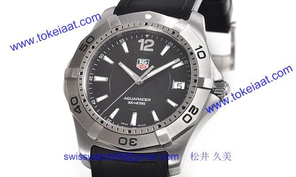 TAG タグ·ホイヤー時計コピー アクアレーサー WAF1110.FT8009