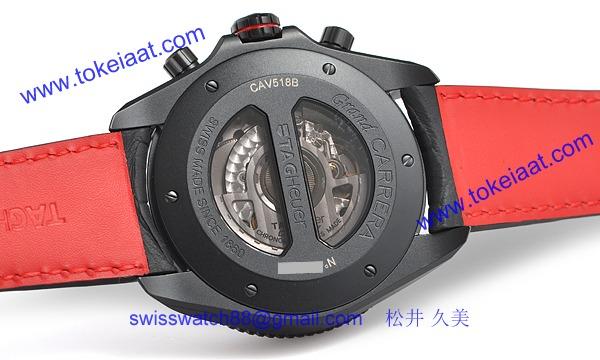 TAG タグ·ホイヤー時計コピー グランドカレラ クロノ キャリバー CAV518B.FC6237