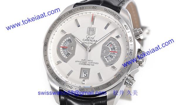 人気 タグ·ホイヤー腕時計偽物 グランドカレラ クロノ キャリバー17RS CAV511B.FC6225